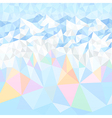 mountains color vector image