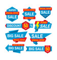 sale tag badge design discount abstract vector image vector image