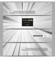Set of modern banners Abstract lines vector image vector image