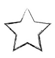 star funny comic cartoon decoration icon vector image vector image