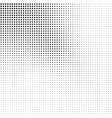 Abstract halftone background in black and white