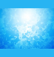artistic blue background forming by abstract vector image