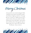 Christmas design with place for your text vector image vector image