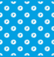 coin ruble pattern seamless blue vector image vector image