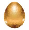Colorful Polygonal Egg3 vector image vector image