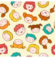 Doodle kids background vector image vector image