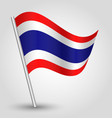flag thailand vector image