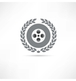 reel of film icon vector image vector image