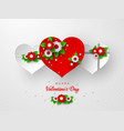 valentines day holiday banner vector image vector image