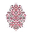 vintage decorative ornament element vector image