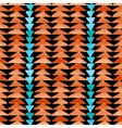 Navajo aztec textile inspiration pattern Native vector image