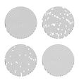 Black Isolated Fingerprint vector image