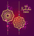 a graphic design for an indian festival vector image