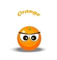 a orange vector image