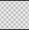 black flower and dots japanese seamless on white vector image vector image