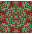 Bright pattern of mandala vector image vector image