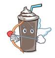 cupid ice chocolate character cartoon vector image vector image