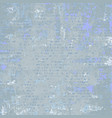 grey blue grunge background vector image vector image