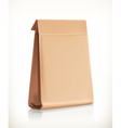 Paper bag object vector image