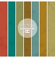 Retro stripe background vector image vector image