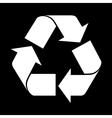 reuse symbol simple vector image