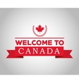 Canadas County design Maple leaf icon vector image