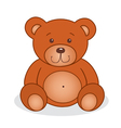 Cute teddy bear vector image vector image