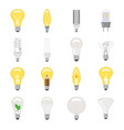 light bulb lightbulb idea icon solution vector image vector image