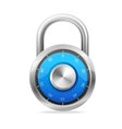 Lock Security Concept padlock vector image vector image