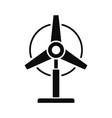 wind energy plant icon simple style vector image