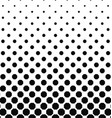 Abstract black and white octagon pattern design vector image vector image