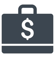 Accounting Flat Icon vector image