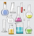 test-tube chemical glass test tubes filled vector image
