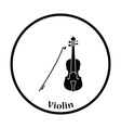 Violin icon vector image