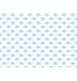 abstract semicircle blue gradient wave pattern on vector image