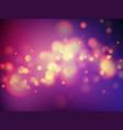 abstract soft bokeh background vector image vector image