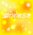 Background summer vector image vector image