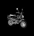 biker 05 vector image vector image