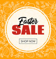 easter sale banner for online store vector image vector image