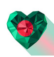 flag of the peoples republic of bangladesh vector image