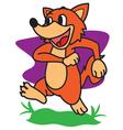 Fox Walking vector image