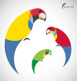 image of an parrot design vector image