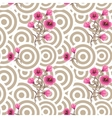 Japanese wave oriental seamless pattern vector image vector image