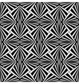 Seamless geometric design vector image