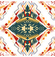 seamless texture tribal geometric pattern aztec vector image