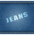 Jeans Banner vector image vector image