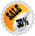 sale3 resize vector image vector image
