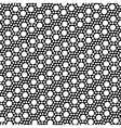 Simple black and white dot pattern vector image