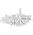 what do you need to know about skin disorders vector image