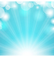 Blue Sunburst vector image